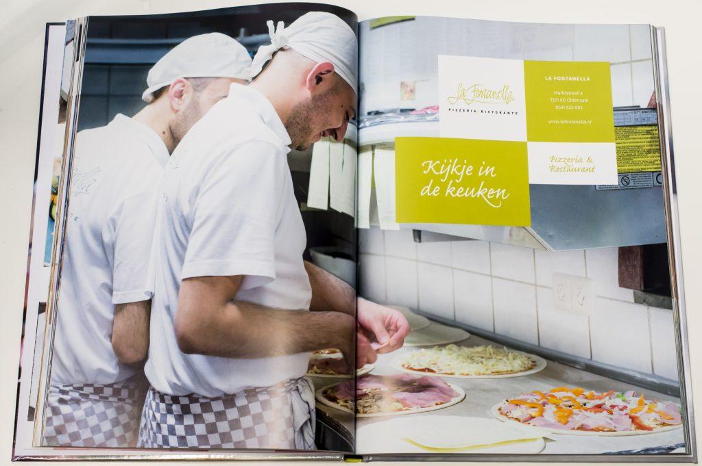 La Fontanella, Italiaans, Oldenzaal, Kookboek Kijkje in de Keuken Food Photography Stefanie Spoelder