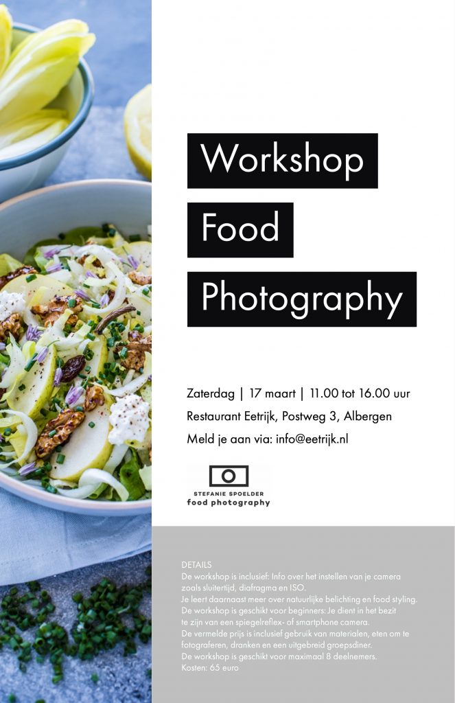 WORKSHOP FOOD PHOTOGRAPHY