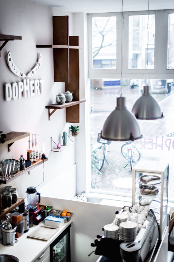 Dophert - Amsterdam - Vegan - vegan lunchroom - vegan restaurant - plant based - Dophert