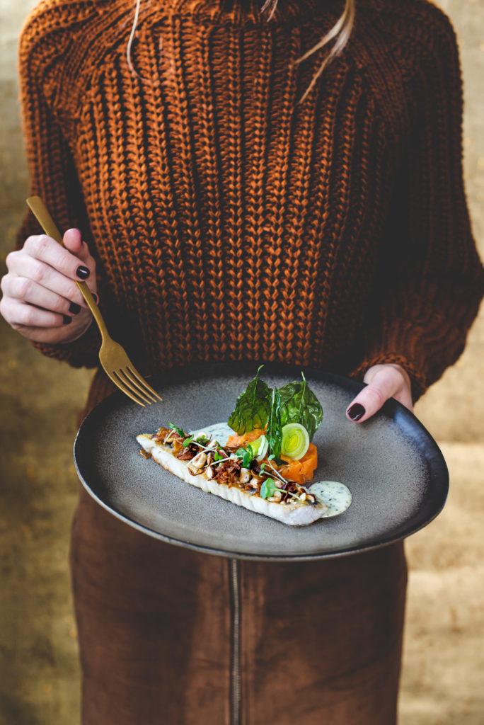 snoekbaars gerecht restaurant bistro Kir-herfst Stefanie Spoelder Food Photography Foodfotografie foodfotograaf