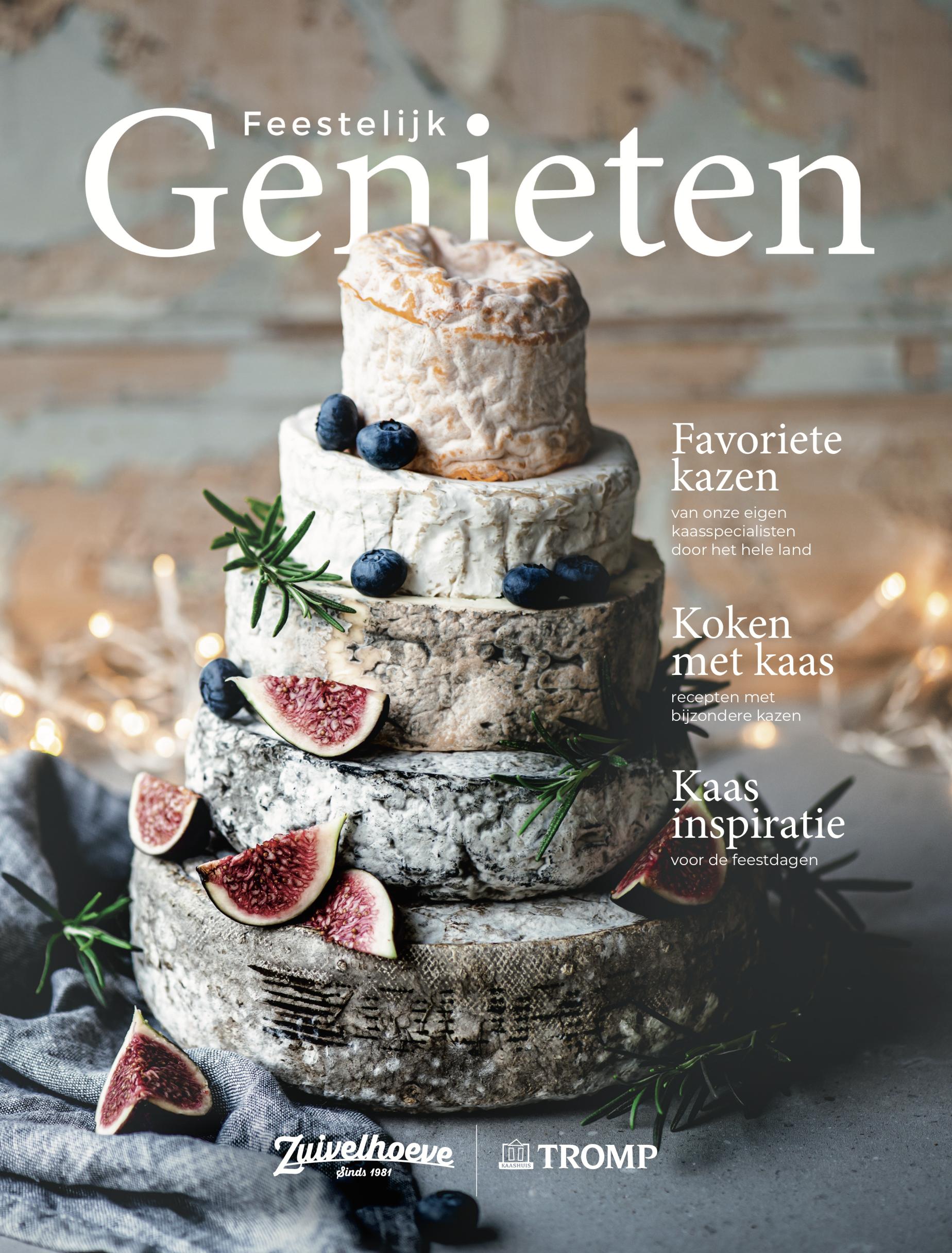 Zuivelhoeve Feestelijk Genieten Cover Stefanie Spoelder Food Photography foodfotograaf