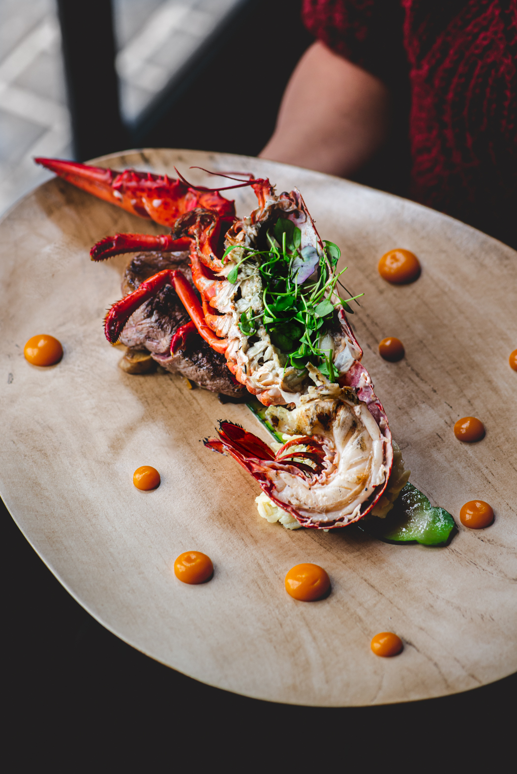 Kreeft Bistro de Kruidentuin - Stefanie Spoelder roodfotografie - Food Photography