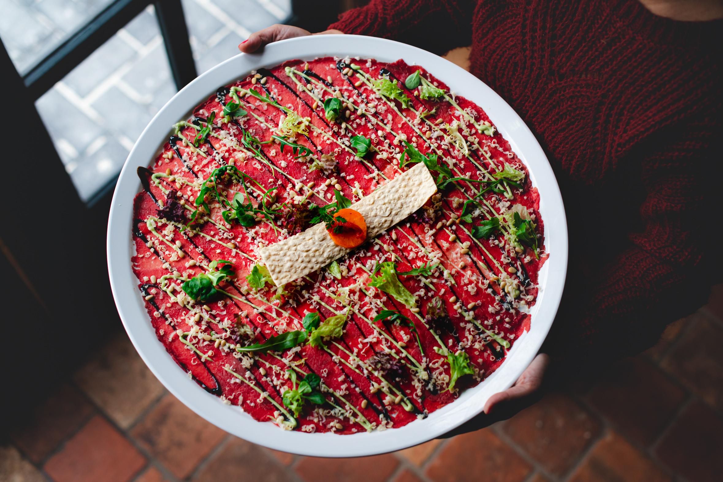 Carpaccio Bistro de Kruidentuin - Stefanie Spoelder roodfotografie - Food Photography