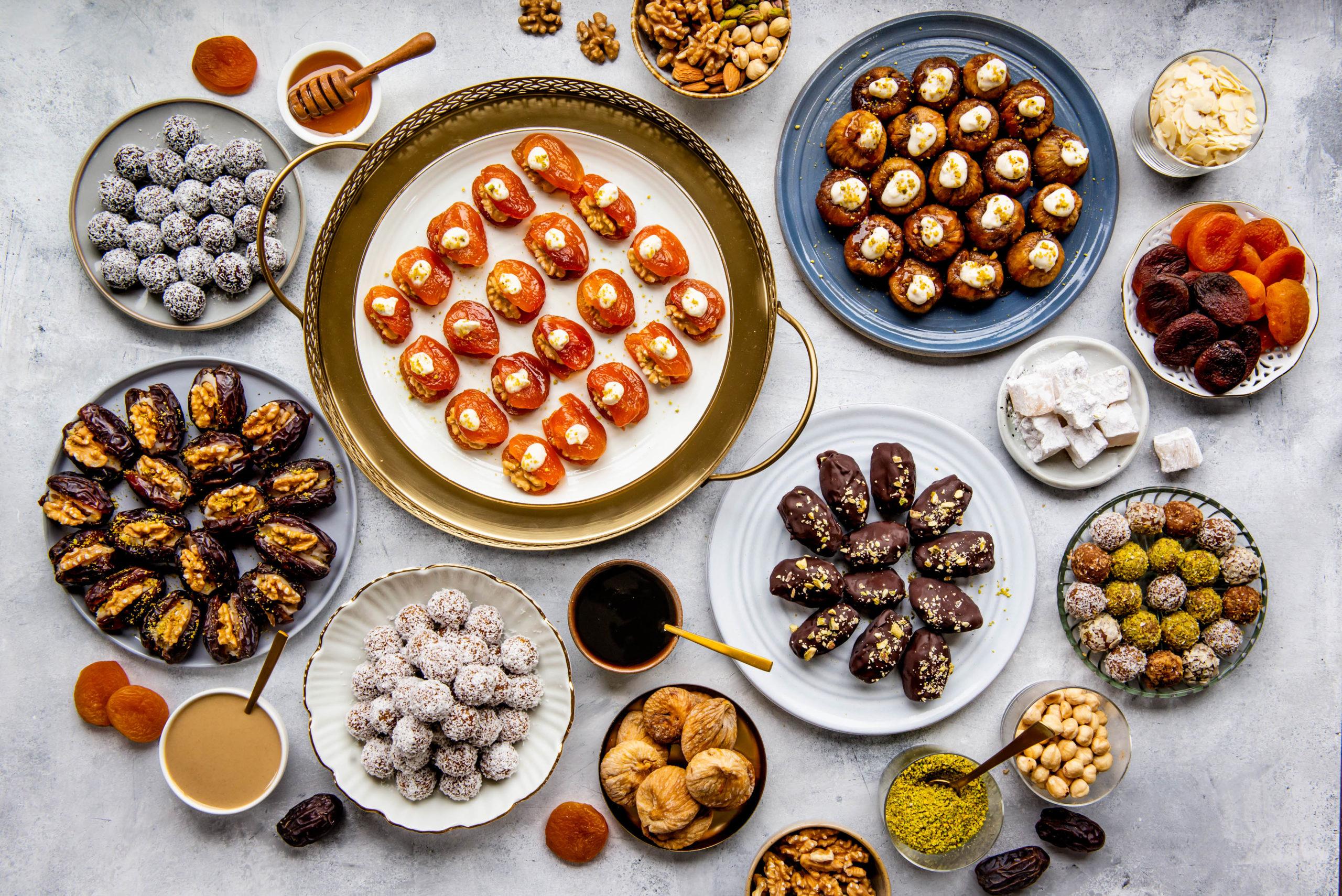 Miras Ramadan hapjes gedroogde vruchten suikerfeest Stefanie Spoelder foodfotograaf foodfotografie food photography