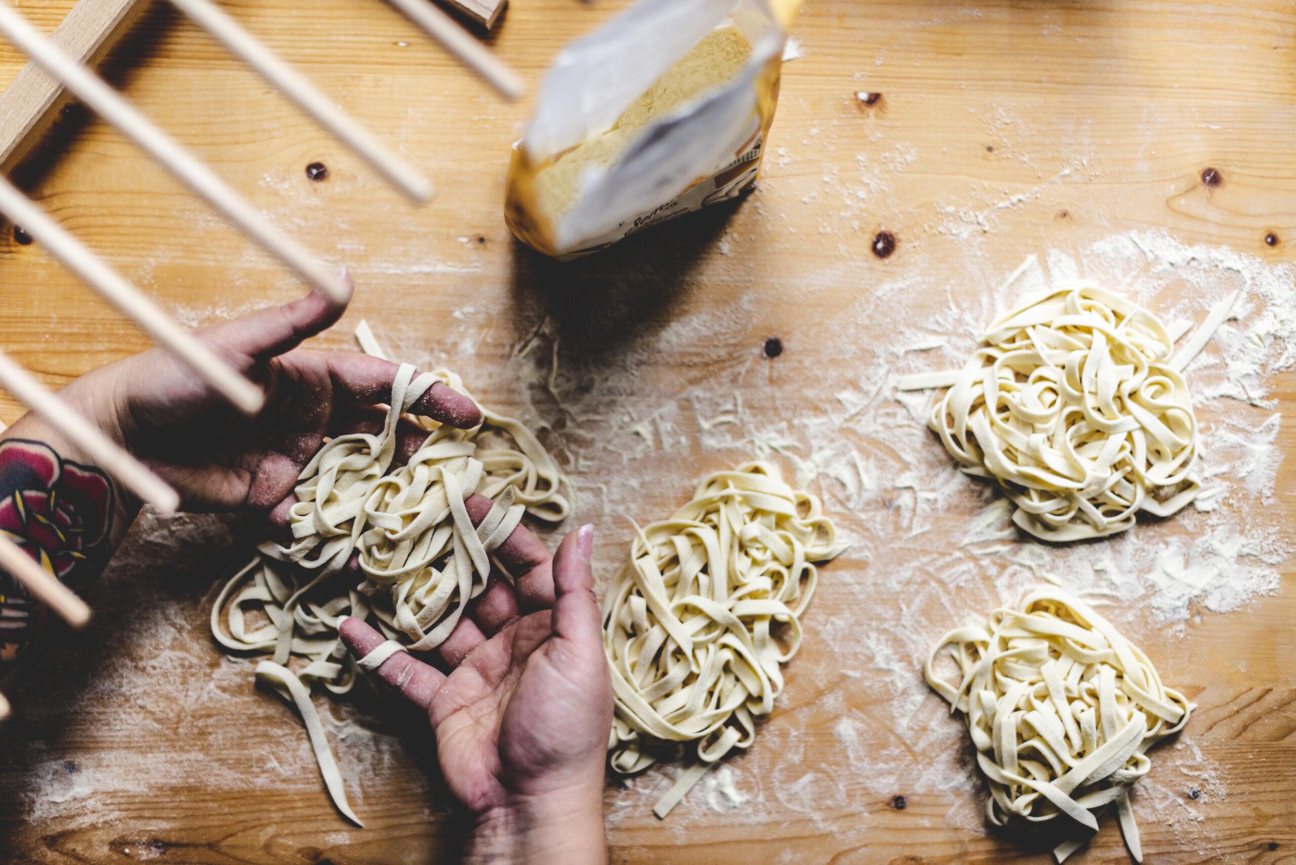 pure food concepts zelfgemaakte paste door silvia van puur deliz
